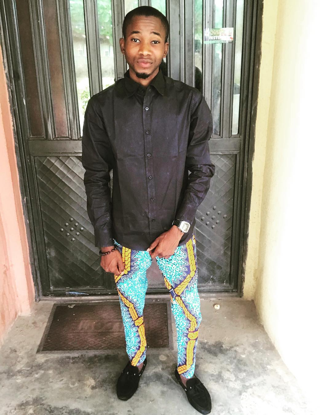 nigerian male traditional attire