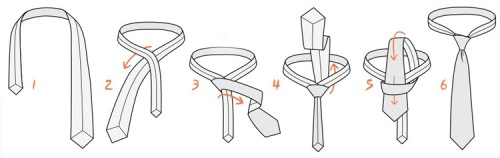 how to nut a tie
