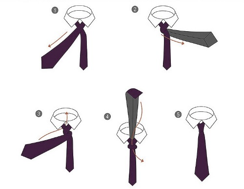 how to nod a tie