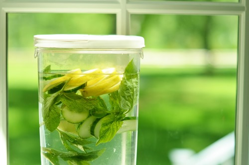 benefits of cucumber water