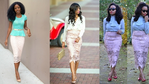african french lace styles