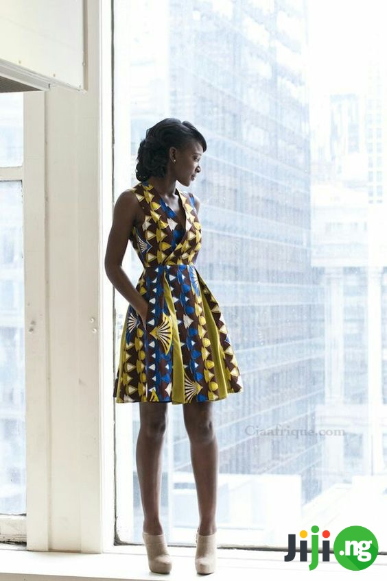 ankara styles for skinny ladies