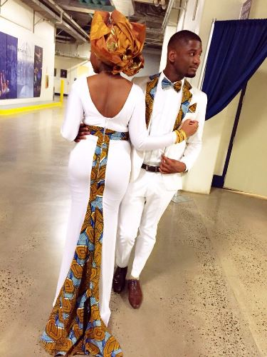 matching african outfits for couples