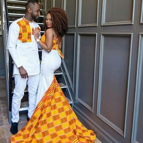 couple african designs