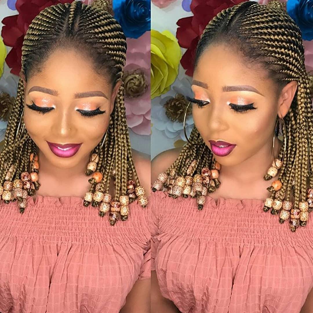 Latest Ghana Weaving Hairstyles In Nigeria   Jiji Blog