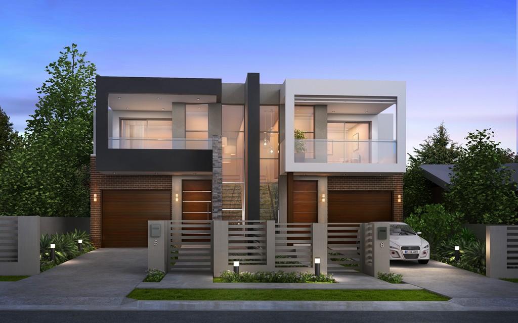 Nice Duplex House Design Lewisburg District Umc