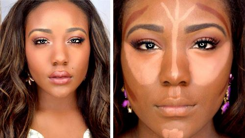 how to use bronzer and highlighter