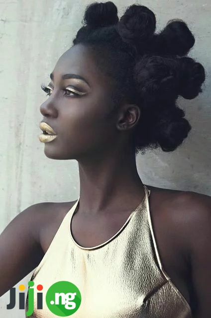black hairstyles for medium hair