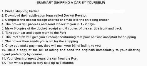 shipping from usa to nigeria cost
