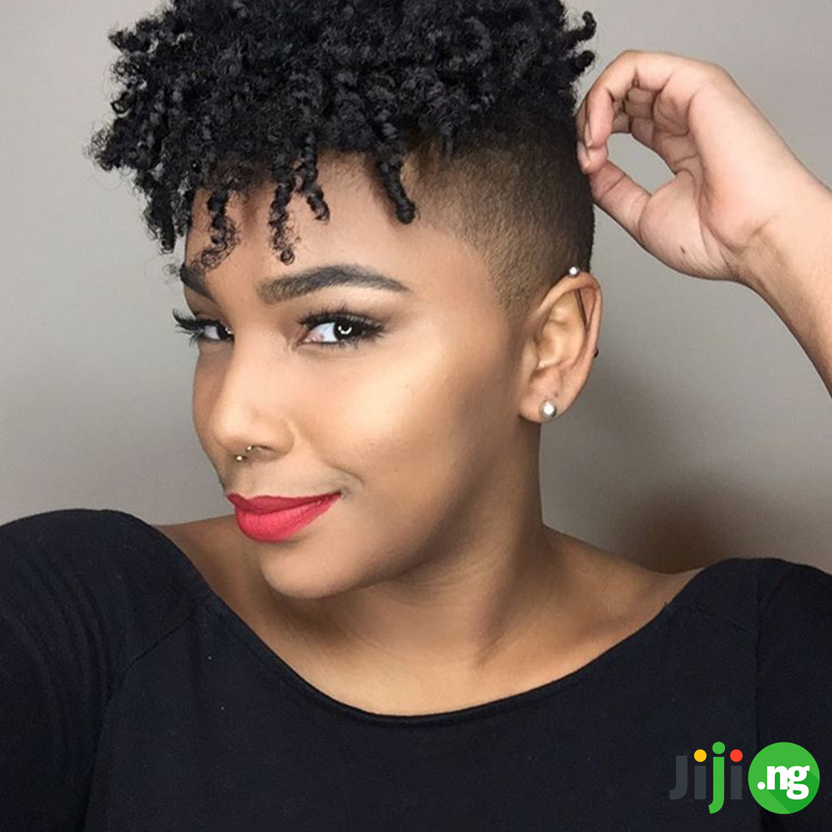 25 Easy Natural Hairstyles For Short Hair Jiji Blog