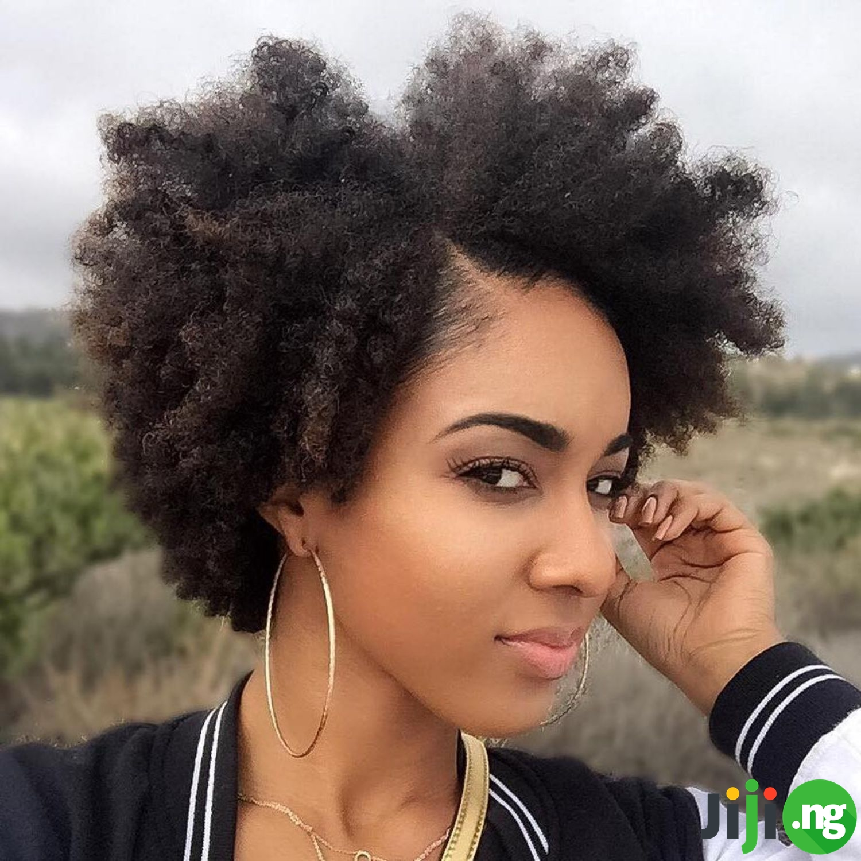 25 Easy Natural Hairstyles For Short Hair   Jiji Blog