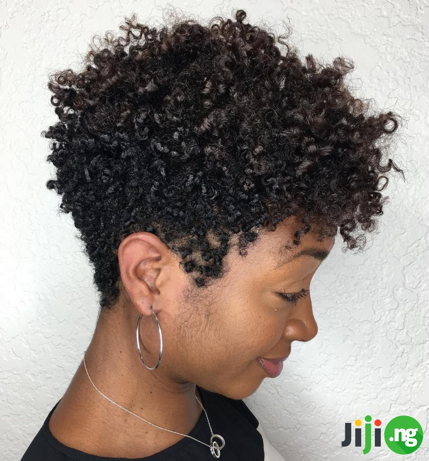 easy natural hairstyles for short hair