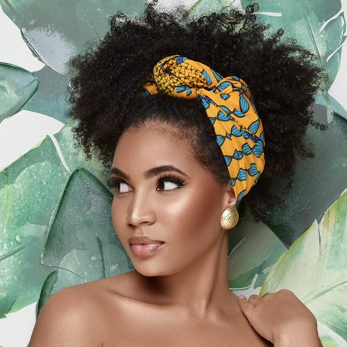 ankara hair accessories