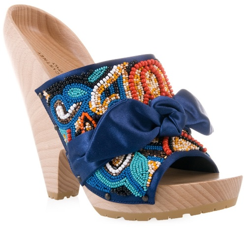 ankara slippers and sandals