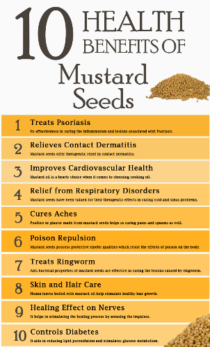 benefits of mustard seeds for hair