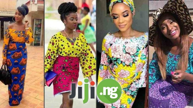 ankara blouse and wrapper styles