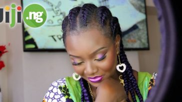nigerian hairstyles with attachment