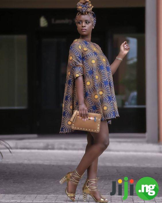 Nigerian chiffon gowns