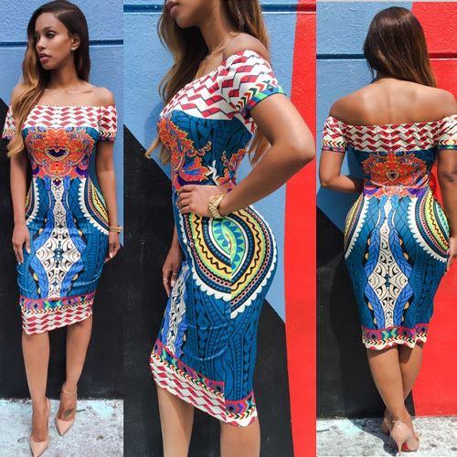 ankara straight dress styles