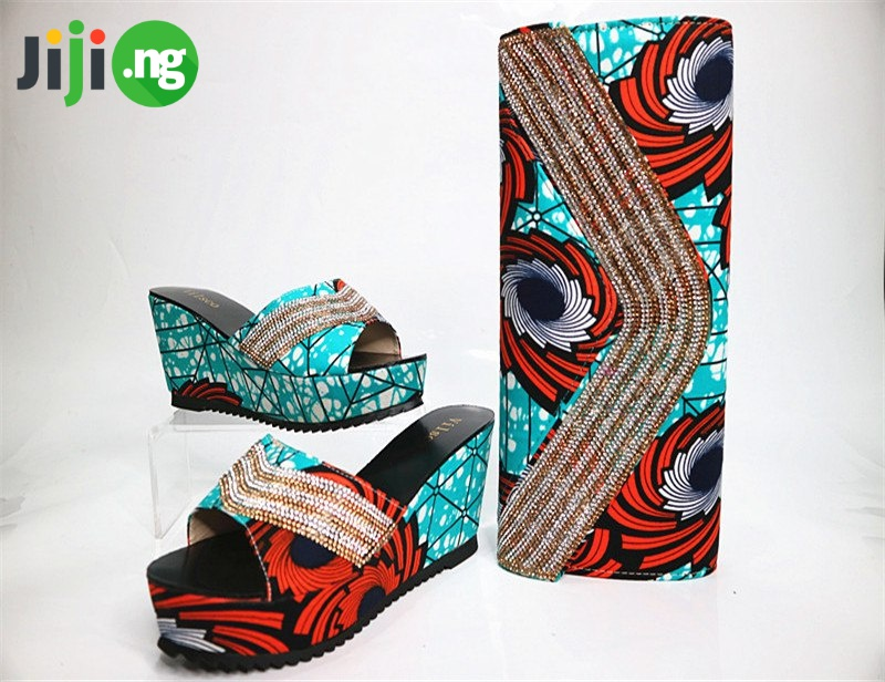how to make ankara bags and shoes