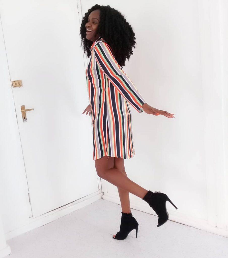 Shirt dress styles in Nigeria