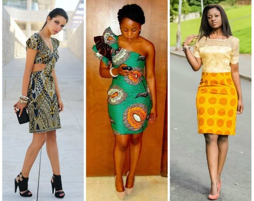 short flare gowns