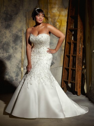 Wedding dresses mermaid style lace