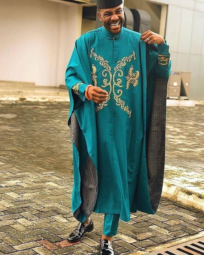 african agbada embroidery