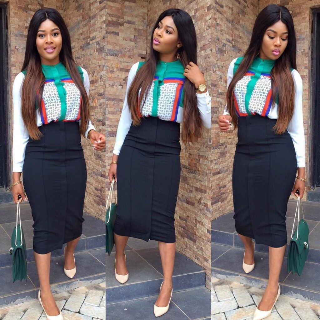 Corporate gown styles in Nigeria