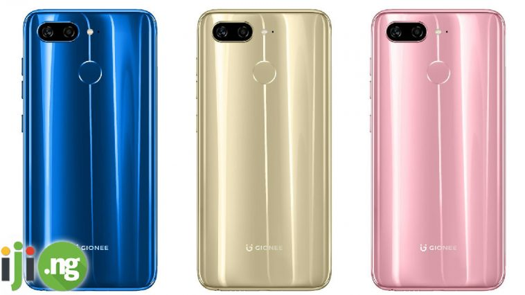 Gionee phones and prices in Nigeria