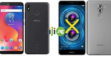 Infinix Hot S3 vs. Huawei Honor 6x