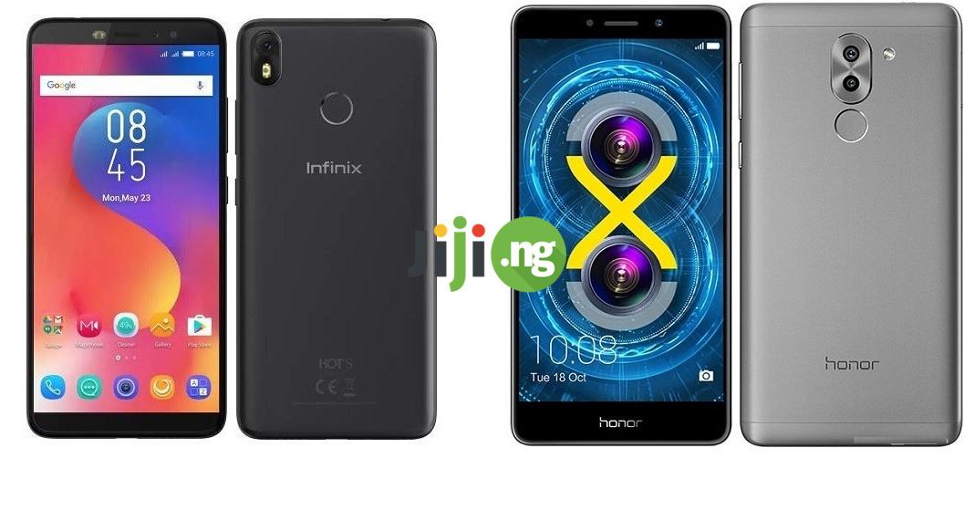 Infinix Hot S3 vs. Huawei Honor 6x