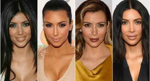 Celebrity Make Up Transformations