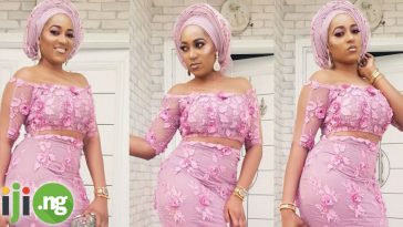 Net lace styles in Nigeria