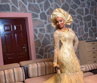 hausa gown styles