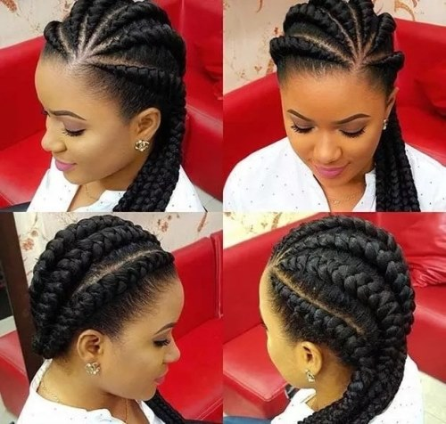 braided hairstyles for ladies
