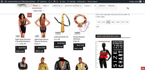 start ankara clothing business