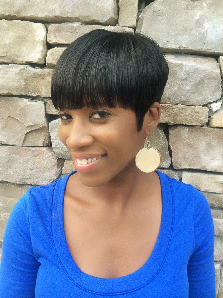 Relaxed hairstyles in Nigeria