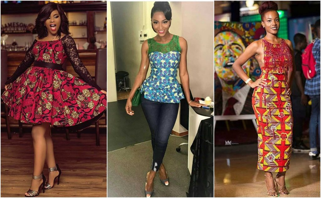 ankara styles for slim ladies