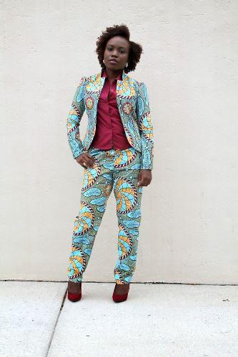ankara suits for ladies
