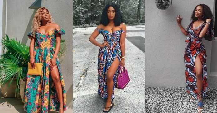 High-fit Ankara gowns for slim ladies