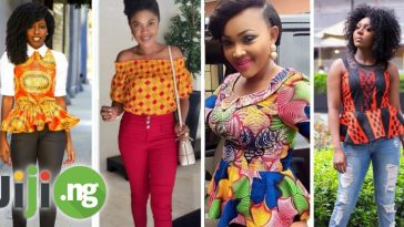 ankara tops and trousers