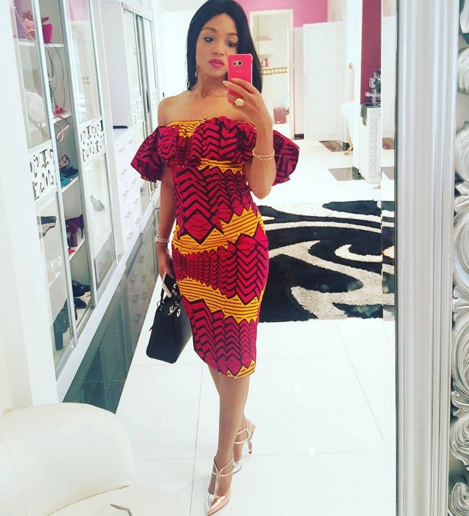 ankara styles for slim girls