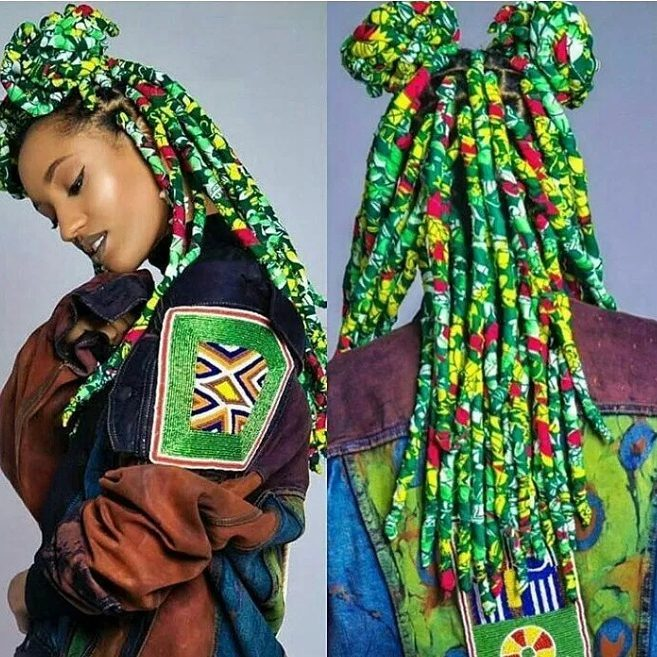 Ankara braids