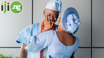 Adekunle Gold and Simi's wedding