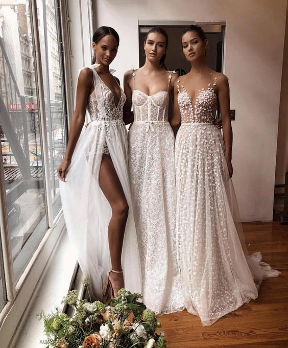 bridal dresses for beach wedding