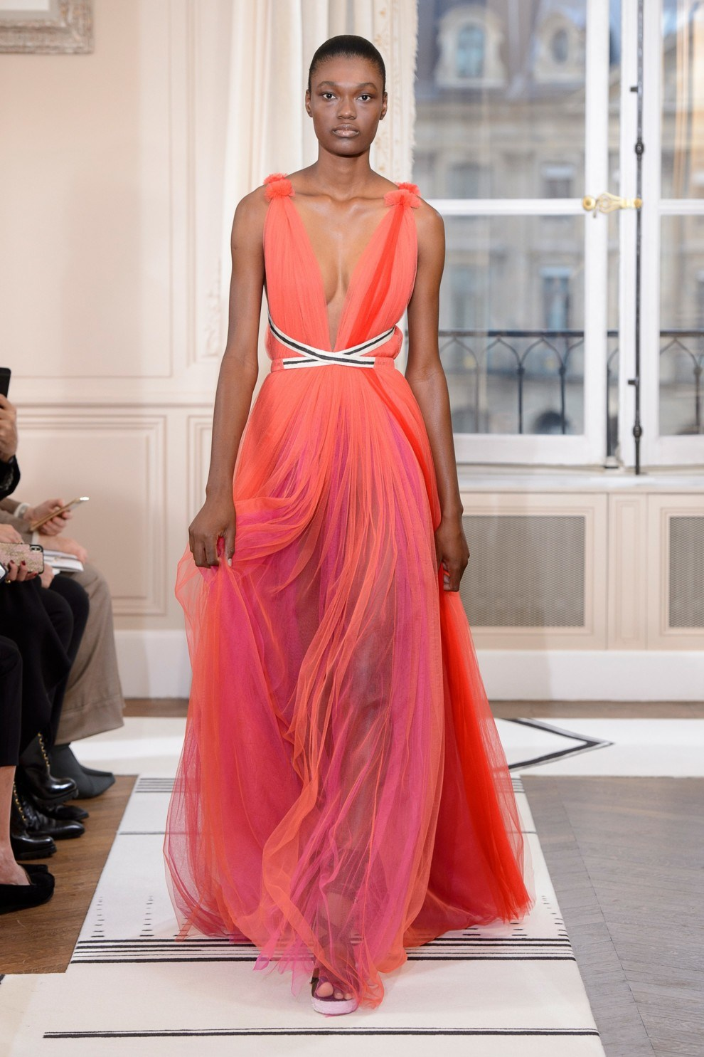 Asymmetrical Maxi gowns
