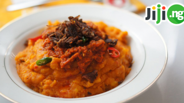how to make Nigerian yam porridge
