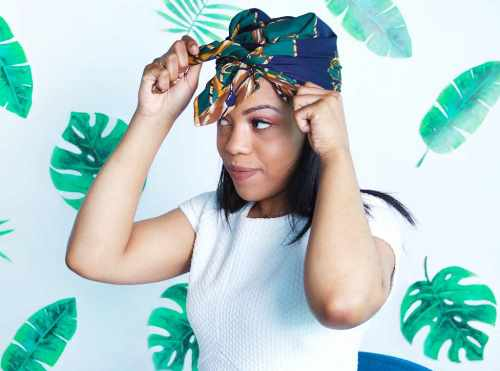 how to wear scarf on head fashionably