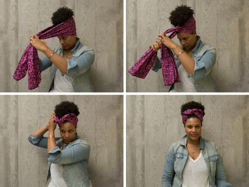 how to wear a scarf on your head